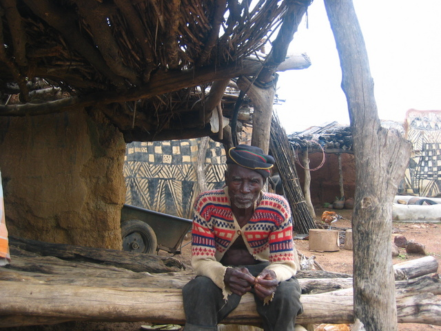 Village chief of Tangassoko