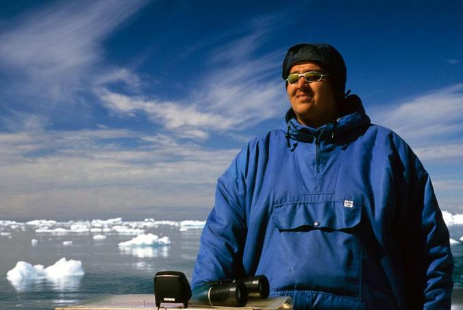 My guide through the Disko Bay