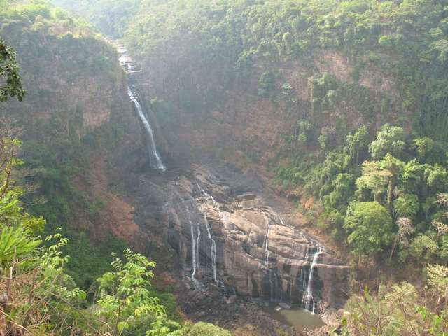 Waterfall de la Saala