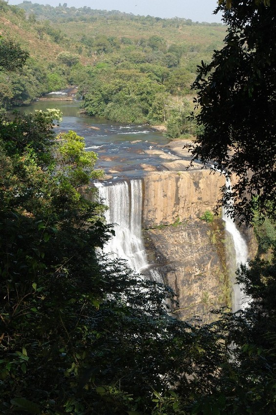 Kampadaga waterfall