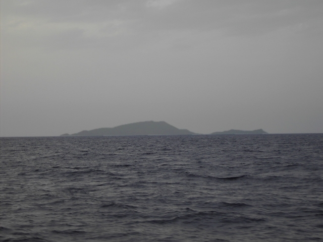 Looking west, island Keros and Koufonissia