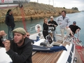 #8: The rest of the Crew in Korinthos Channel