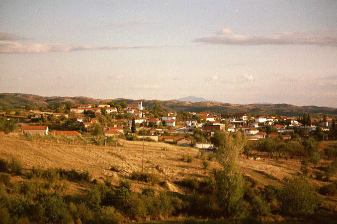 village Koronouda ca. 800m from confluence