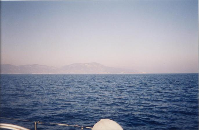 View East towards the Island of Vis
