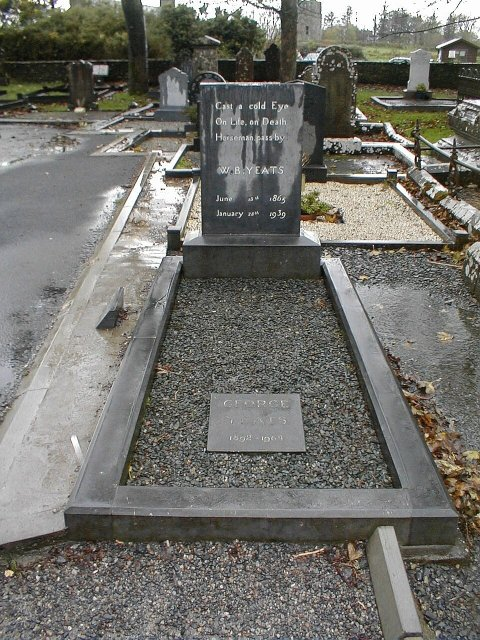 The Grave of W.B. Yeats