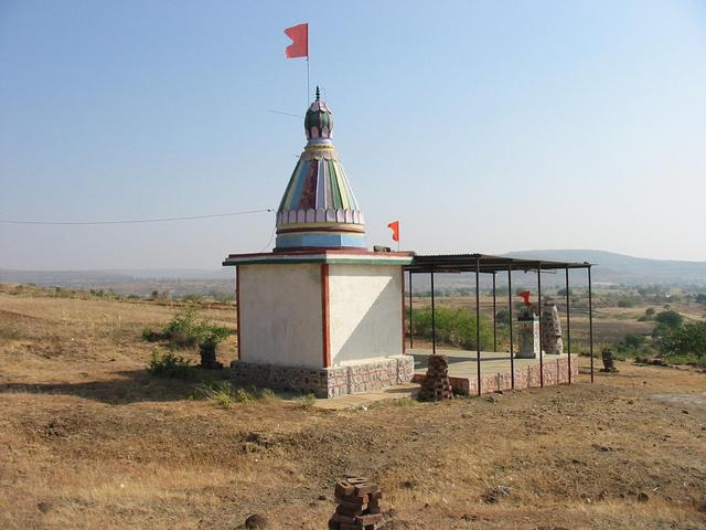 Temple (412 Meters east of the point)