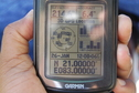 #6: View of  the  GPS Co-ordinates at the Confluence Point