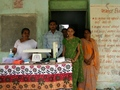#9: Lakshmipura health center and staff that helped us reach the Confluence