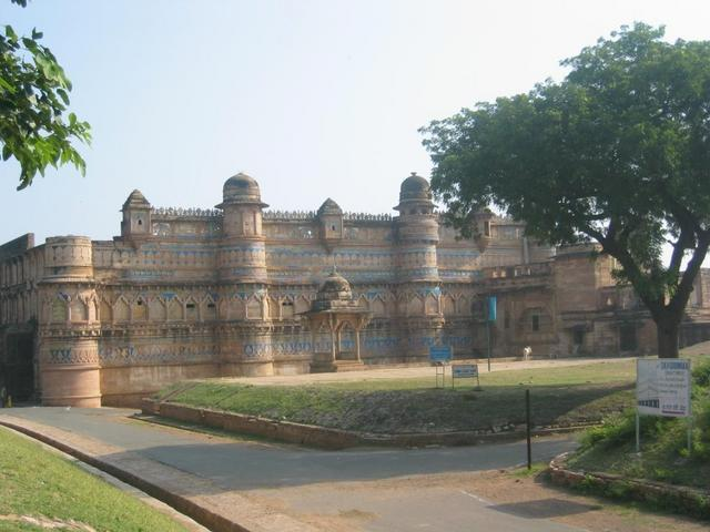 The Castle in Gwalior
