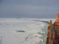 #6: Zig-zag course of the ship through the ice