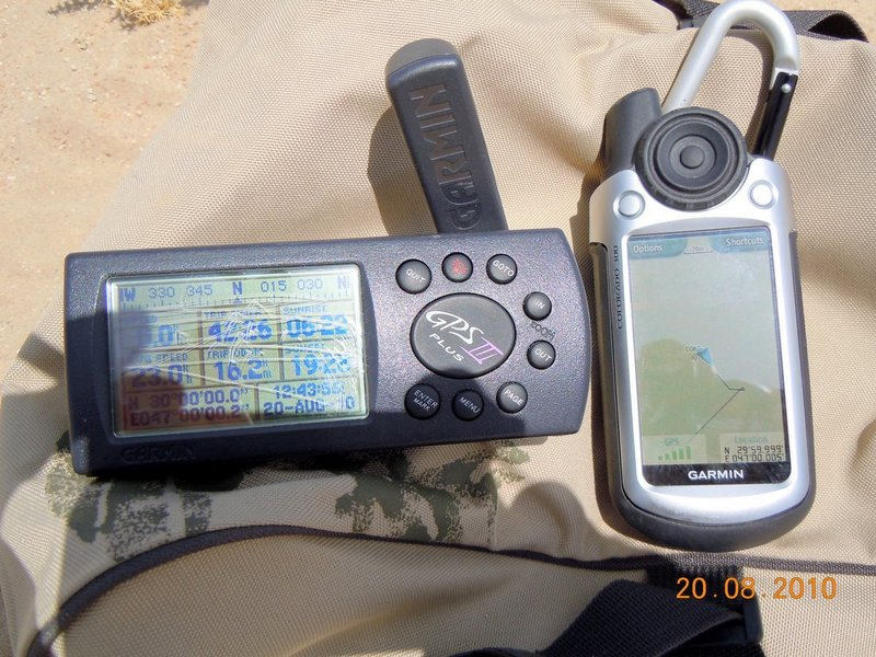 GPS displays