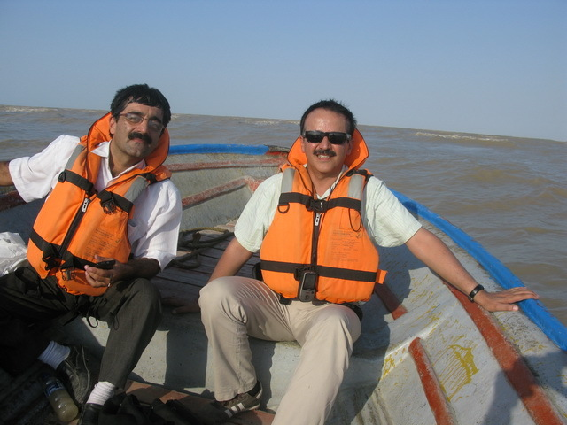 Saeed Taghinejad (left) and Sirous Nekoeoi (right)
