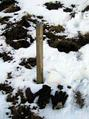 #3: Border markers going up the gully