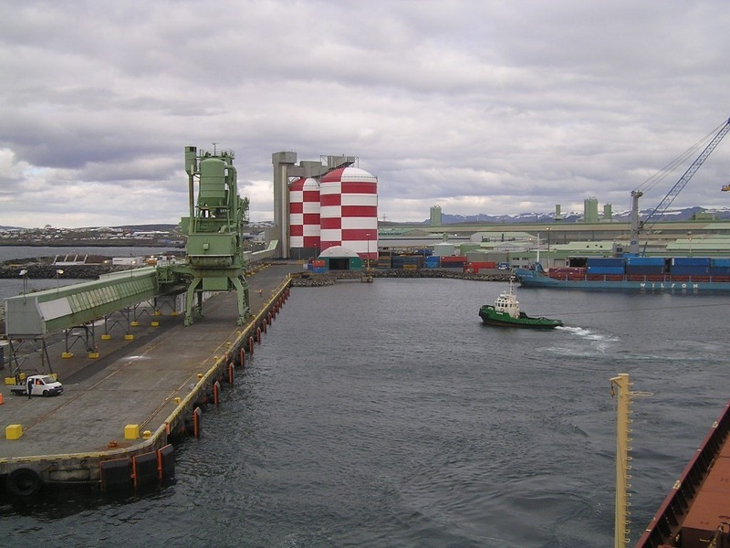 The Alcan berth of Straumsvík