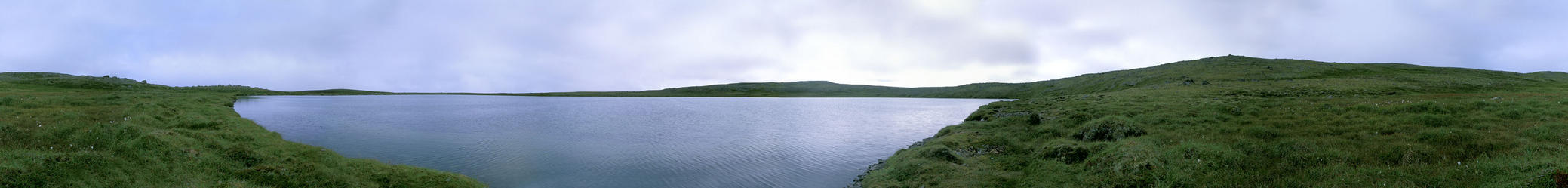 A panoramic view from the confluence point