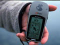 #2: The GPS at the closest point to the confluence at the shore