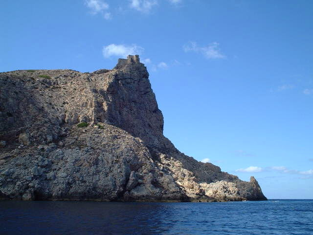 Norman castle on Capo Troia - Castello Normanno su Capo Troia