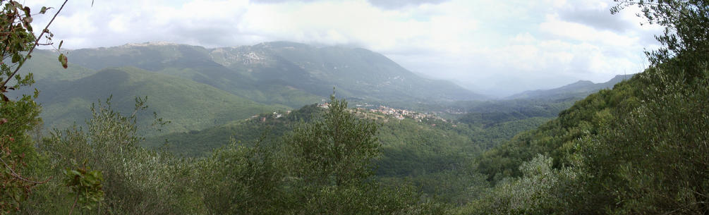 Panorama towards east - Marano Equo