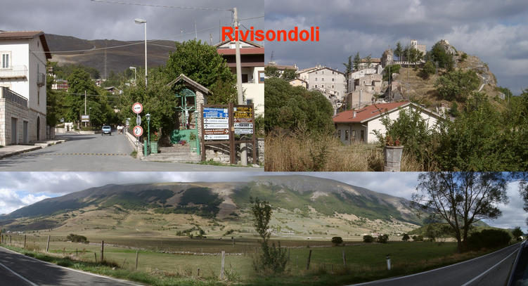 Rivisondoli and the route to Cansano