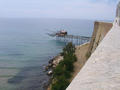 "#9: Termoli: a structure used for fish named ""trabocco"""