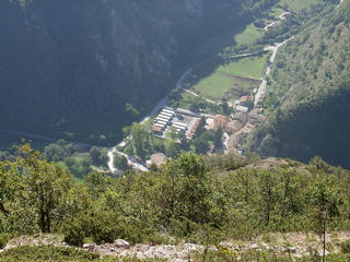 #1: From the CP downwards to the village of Monte Cavallo