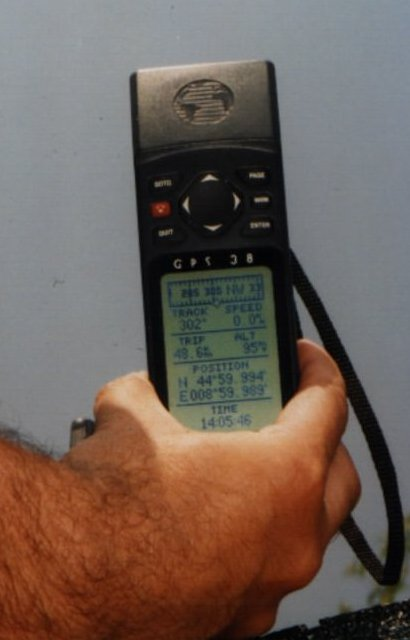 Corner of the realty (GPS)