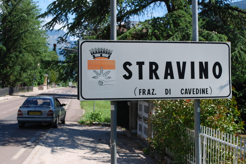 Village entrance Stravino
