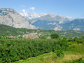 #9: Exiting the forest: Looking towards Cavedine and the Brenta