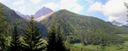 #1: Panorama NORTH, towards the ZILLERTALER ALPEN