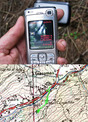 #2: Map with GPS overlay