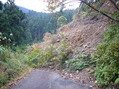 #7: The landslide, at 260 meters to the target