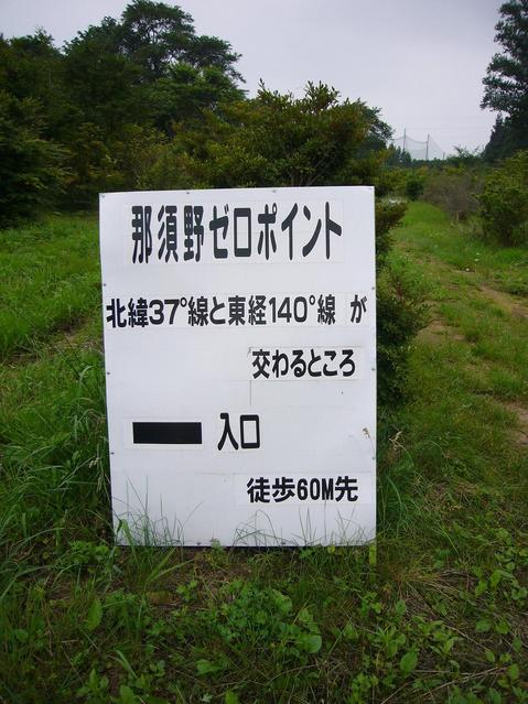 Signboard loacted at 60 meters from the point.