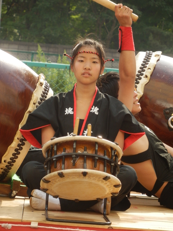 Drummer in Tomokomai City