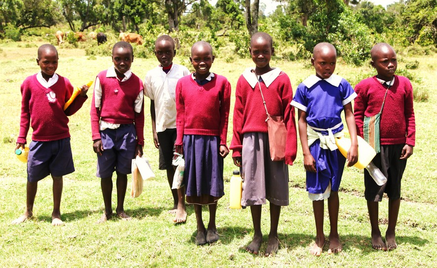 More Masai School Children
