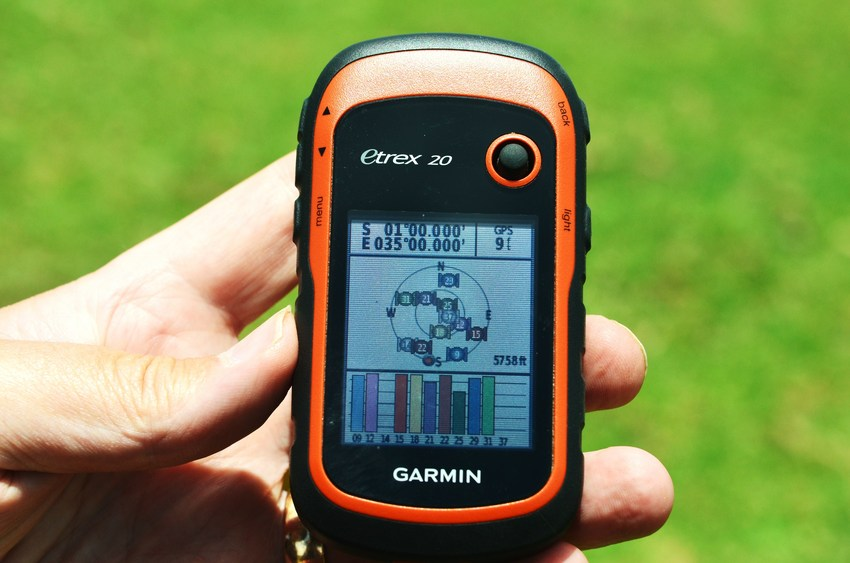 GPS at Confluence 1S 35E