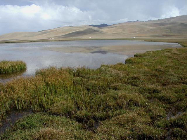 South shore of Song Kol lake - 20 km from the CP
