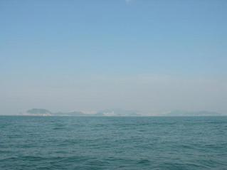#1: Looking north: Dadaepo beach (Busan)