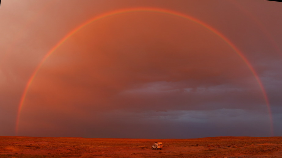 Rainbow over Hunger Steppe