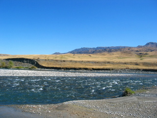 #1: The River 260 m from the Confluence Point