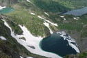#8: The cascade of high-mountainous lakes.