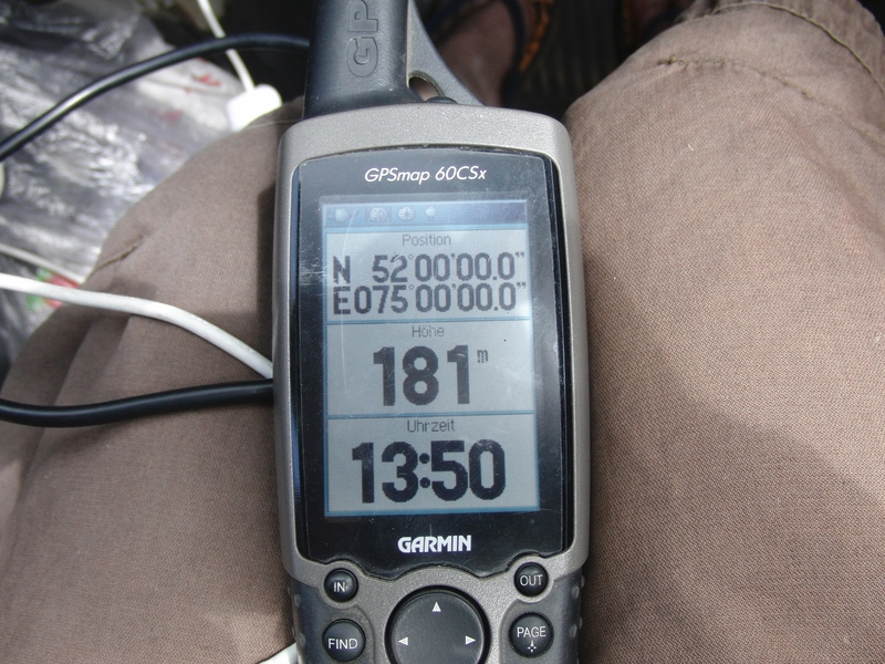 GPS Zero by car (later outside too)