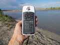 #2: До точки 597 м/GPS reading. 597 m to the CP