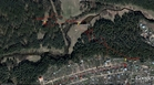 #9: My track on the satellite image (© Google Earth 2010)