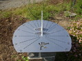#10: Sundial at the Confluence point
