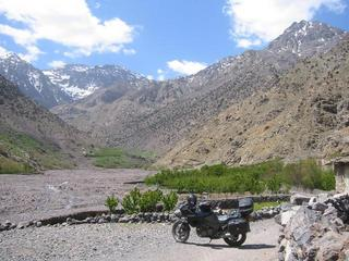 #1: Jbel Toubkal 4187 m between me and Confluence