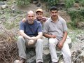#3: Me, my son, and my brother-in-law Nur al-Din - our different degrees of exhaustion are clearly readable from our faces