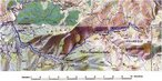 #7: Topo map with our track