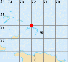 Turks and Caicos Islands map