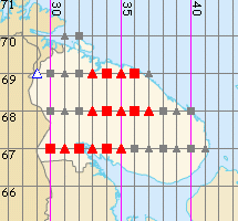Murmanskaya oblast' map