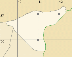 al-Hasaka map